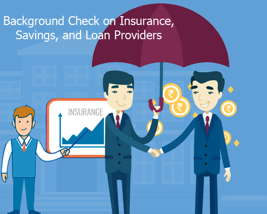 Background Check on Insurance
