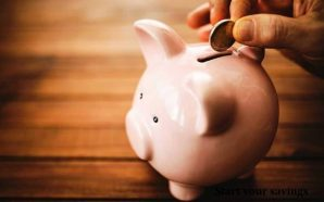 Start your savings