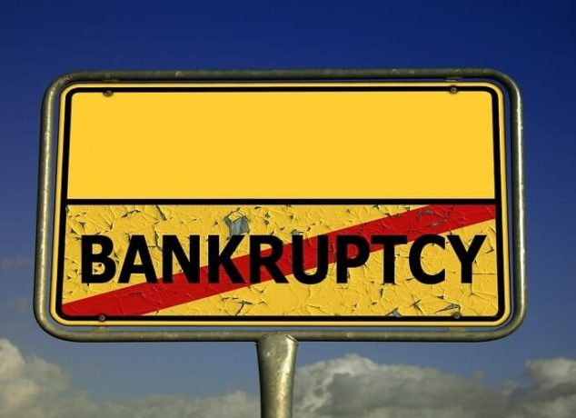 Undergoing Bankruptcy