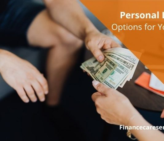 Personal Loan Options for You Now
